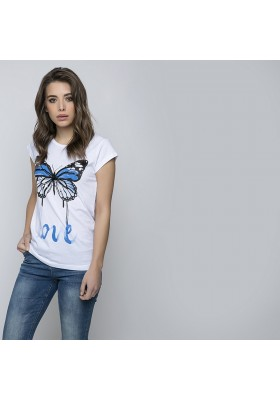 T-shirt woman Ranpollo 100% cotton