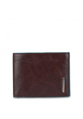 Piquadro Blue Square men's wallet with document holder