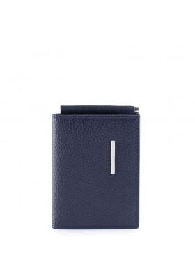 Piquadro Modus portafoglio mini portafoglio con ferma soldi