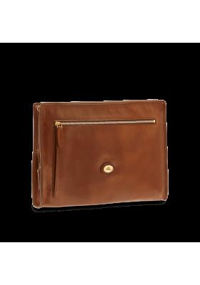Shoulder strap postman's The Bridge Story Donna leather brown