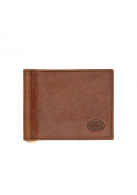 Portadollari money The Bridge Man genuine leather