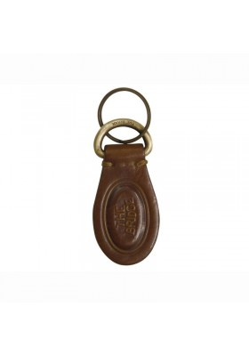 KEYCHAIN MAN, THE BRIDGE GENUINE LEATHER COLOR LEATHER