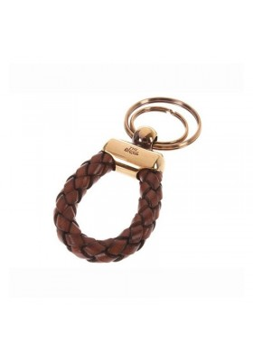 KEYCHAIN MAN, THE BRIDGE GENUINE LEATHER BRAIDED
